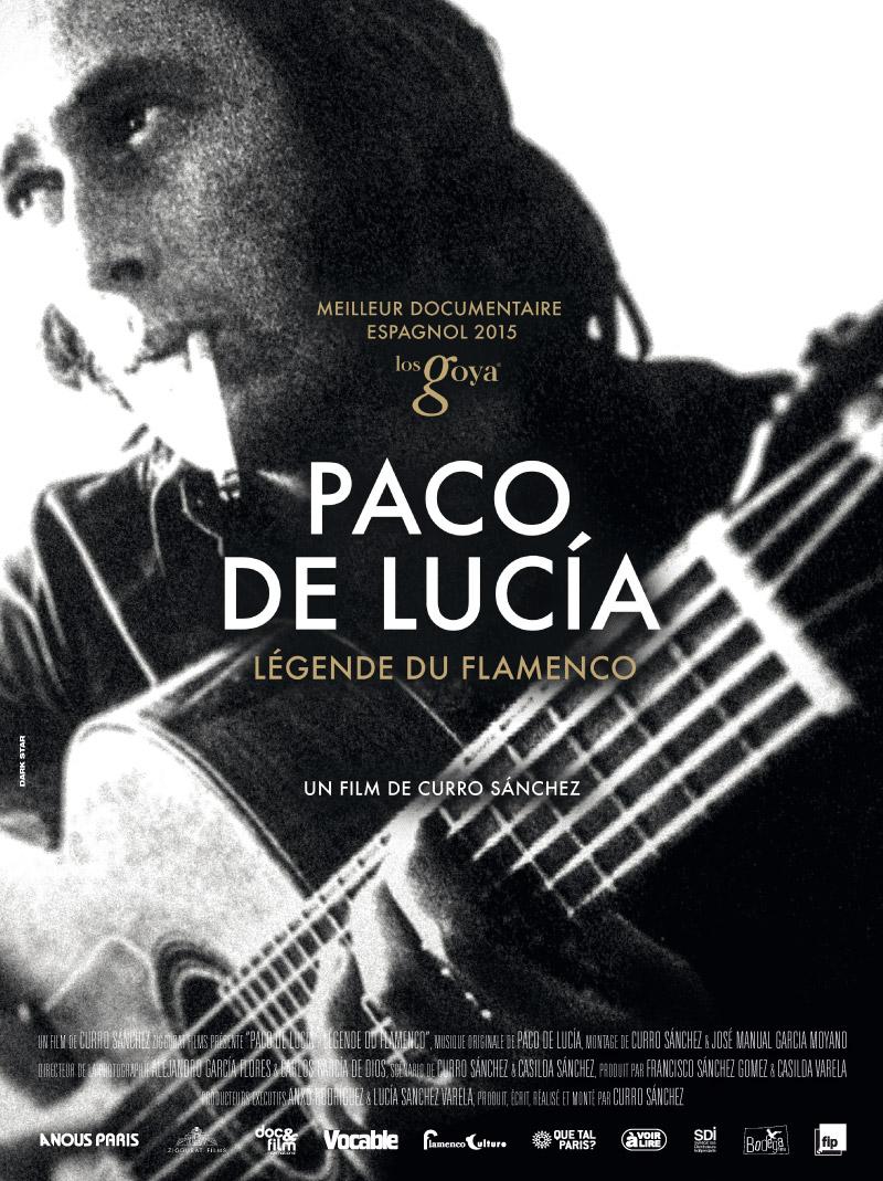 Affiche de Paco de Lucia, légende du flamenco