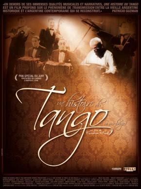 Affiche de Une Histoire du Tango